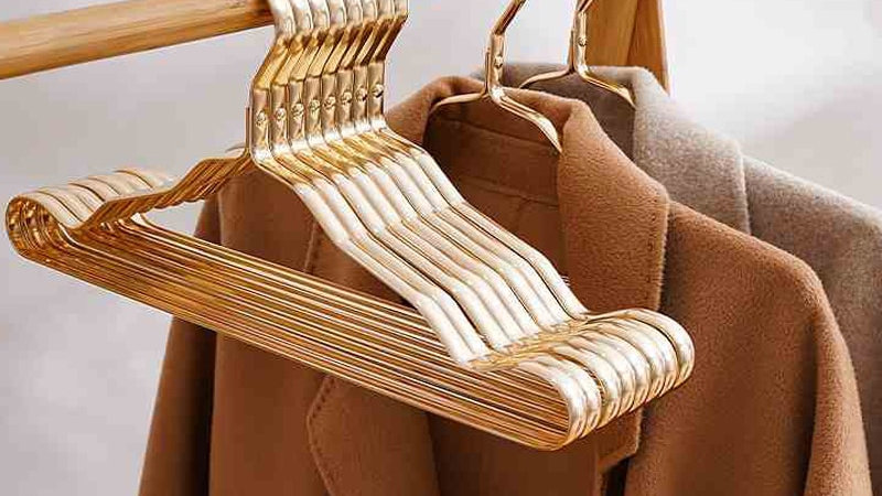 10Pcs Metal Hangers