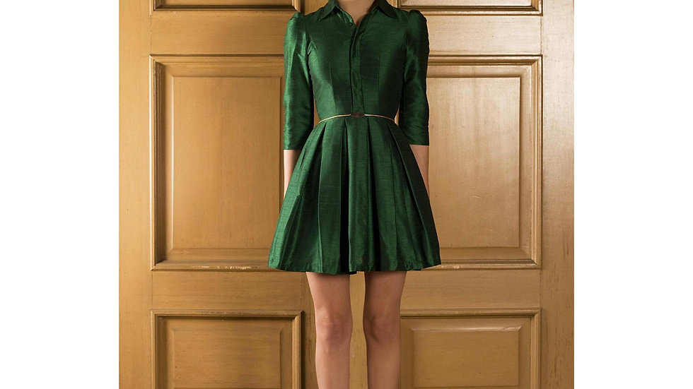 Emerald Green Women Dress