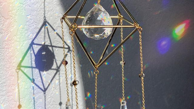Crystal Chained Suncatcher