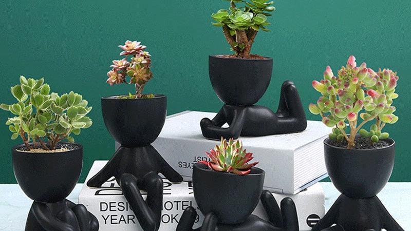 Little People Plant Pots