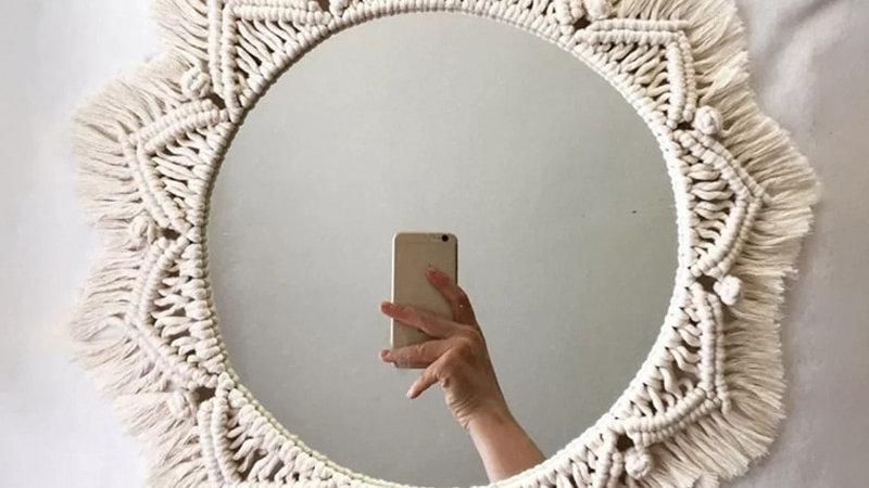 Bohemian Hanging Mirror