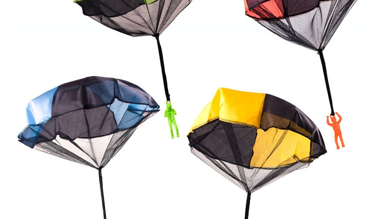 Hand Throwing Parachute Toys