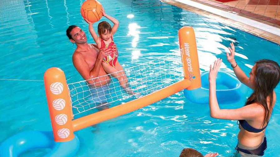 Inflatable Volleyball Net for Kids