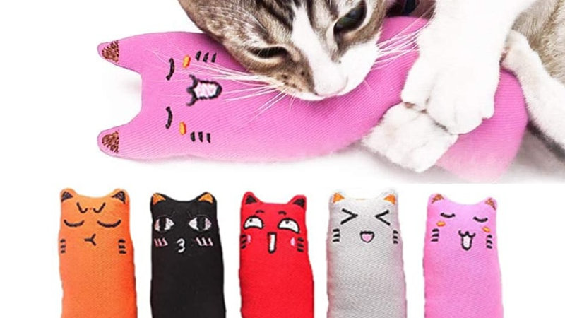 Teeth Grinding Emotive Toys for Cats