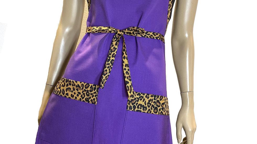 """Designer Gourmet Apron """"Purple Rain"""""""
