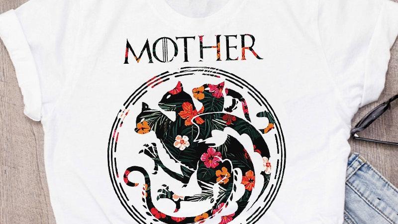 Ladies Cat T-shirts