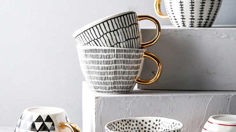 Porcelain Ceramic Cups