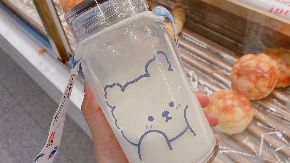 Cute Bear Water Bottle