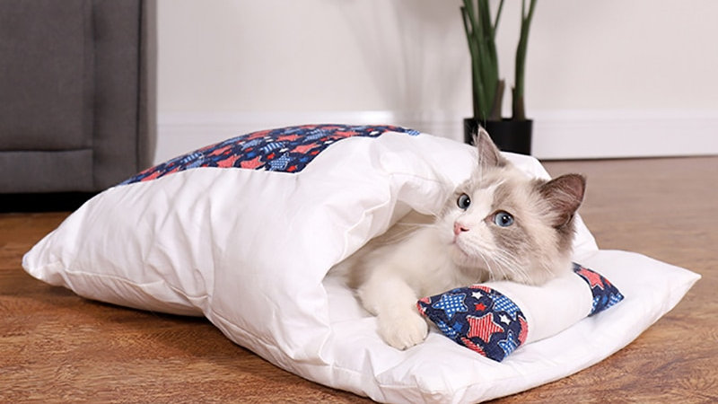 Cosy Sleeping Bag for Pets