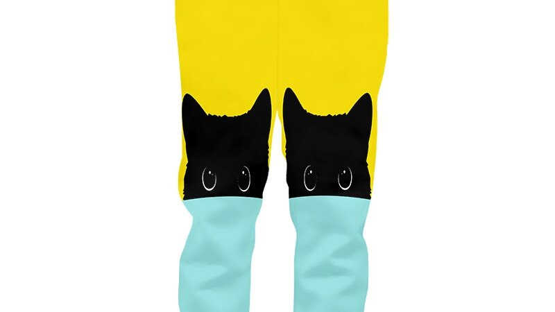 Colourful Cat Joggers