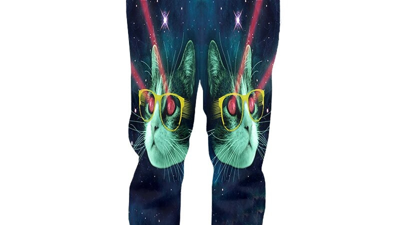 Men's Quirky Kitty Sweatpants