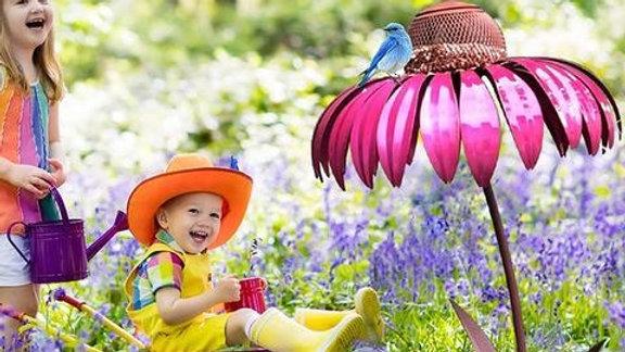 Flower Bird Feeder