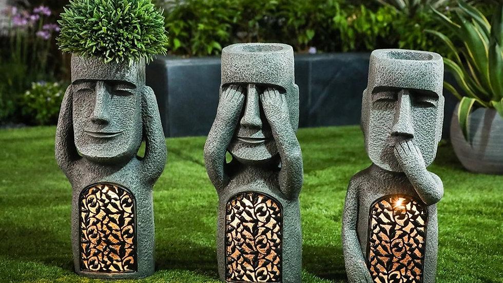 Moai Outdoor Ornaments