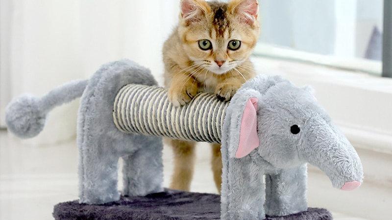 Elephant/Lion Cat Scratching Posts