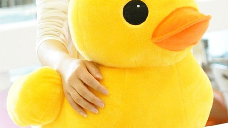 Plush Yellow Duck Plushie