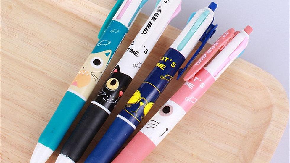 4pcs Cartoon Animal Pens