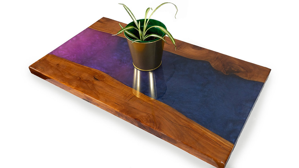 Purple shaded River Side Table