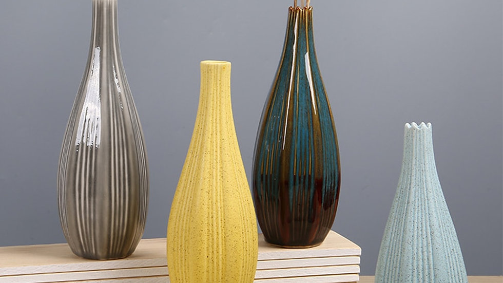 Delicate  Ceramic Vases