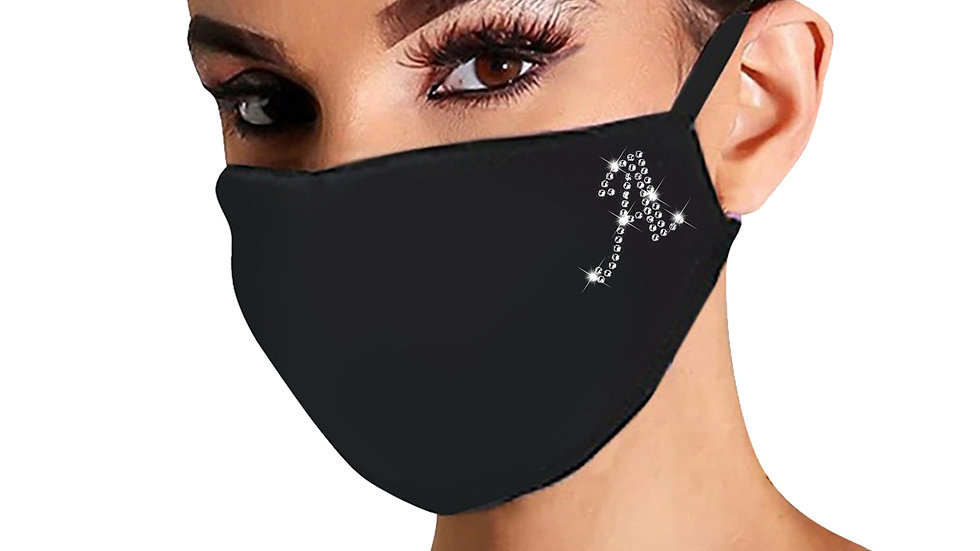 Personalised Letter Face Mask