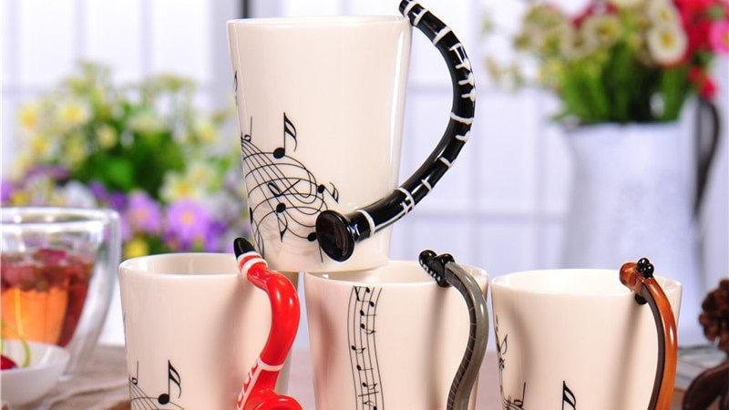 Musical Ceramic Cup