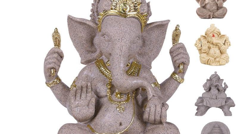Indian Ganesha Elephant God Statue