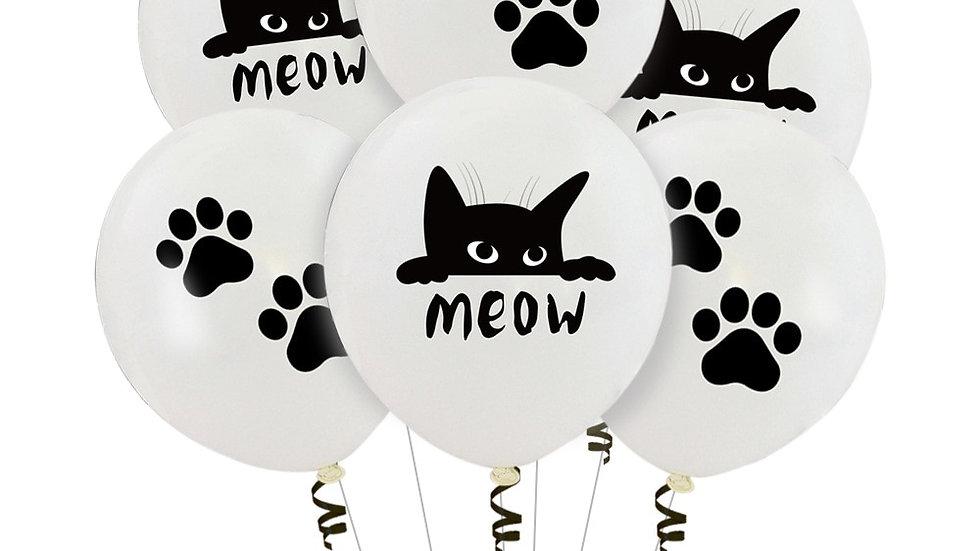 Cat Theme Balloon Sets