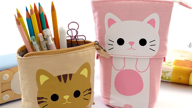 Animal Themed Pencil Cases