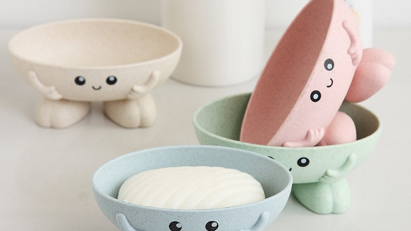 Eco-Friendly Soap Dish