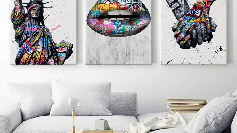 Abstract Graffiti Art