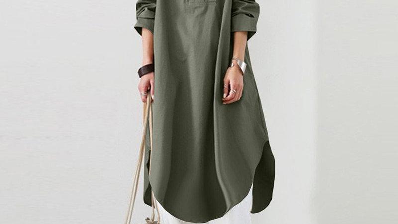 Kaftan Dressing Gown  - Plus Size