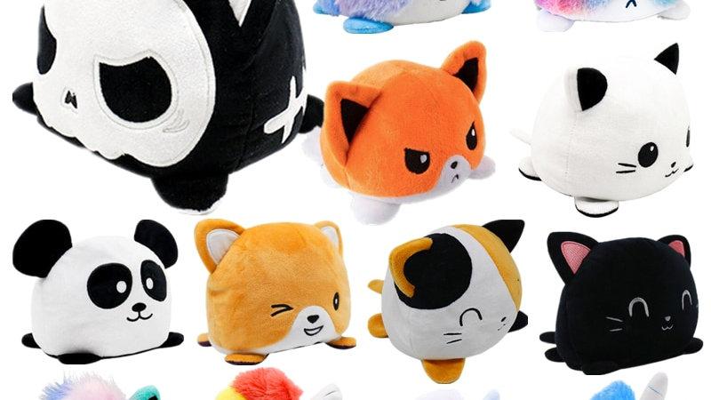 Cute Cuddly Reversible Toys