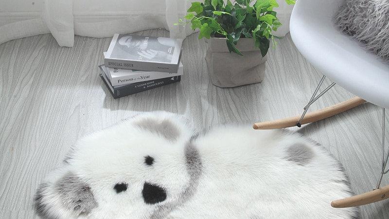 Fluffy Koala & Panda Rugs