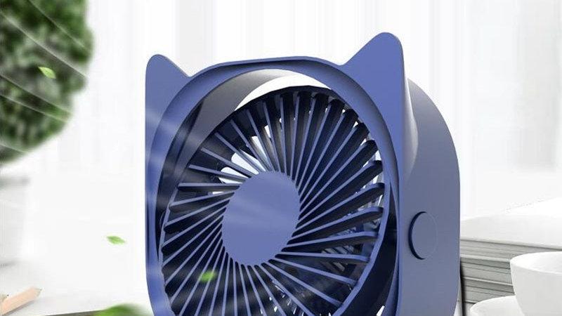 Mini USB Fan Table Small Kitty Fan
