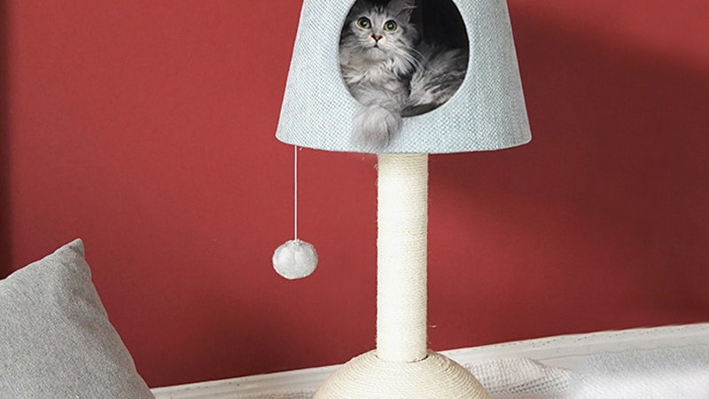 Cat Tree Tower and Scratcher