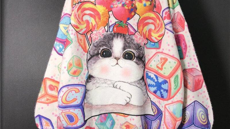 Cartoon Cat Sweater