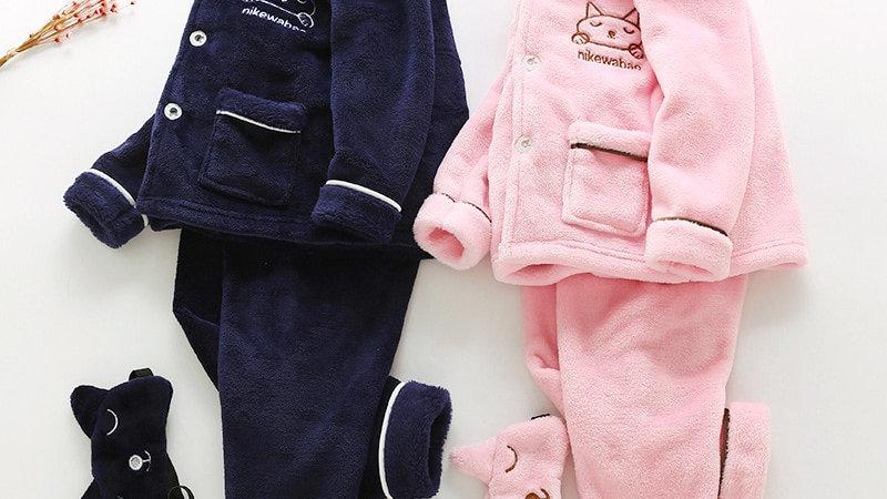 Cosy Kitty Pyjama Sets