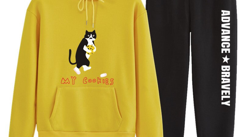 Women's Cat Two Piece Tracksuit