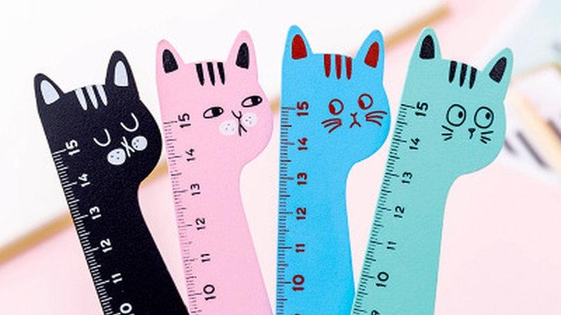Coloured Cat Rulers