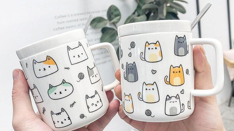 Ceramic Cat Mug