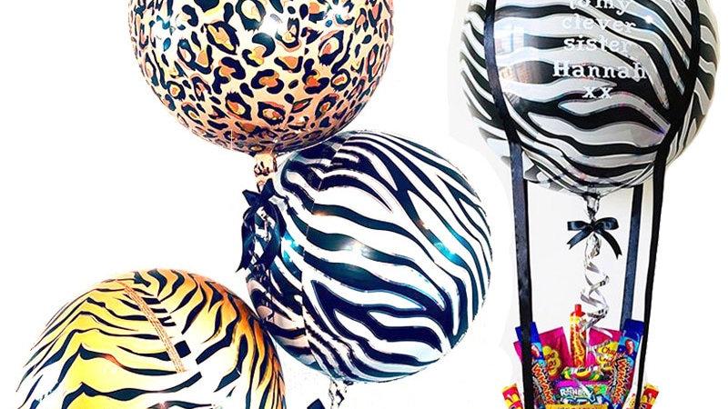 1pc 22inch 4D Balloons Animal Print