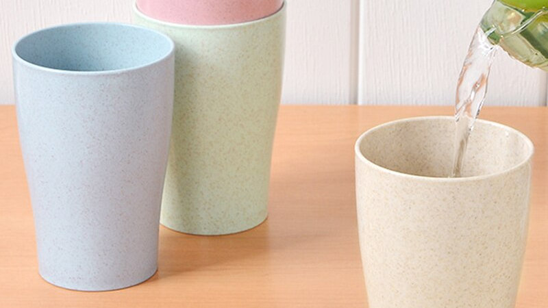 Eco Friendly  Biodegradable Mug Cups 4pc