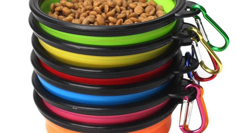 Travel Collapsible Pets Bowl