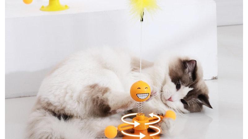 Cat Windmill Toy