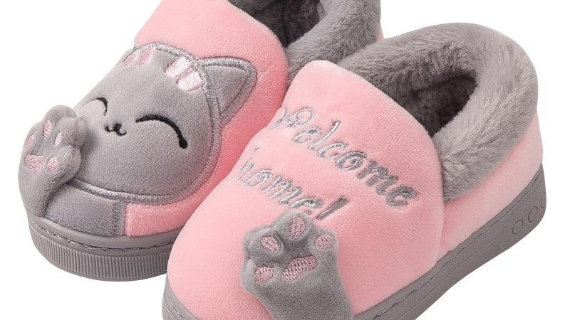 Warm Kitty Slippers