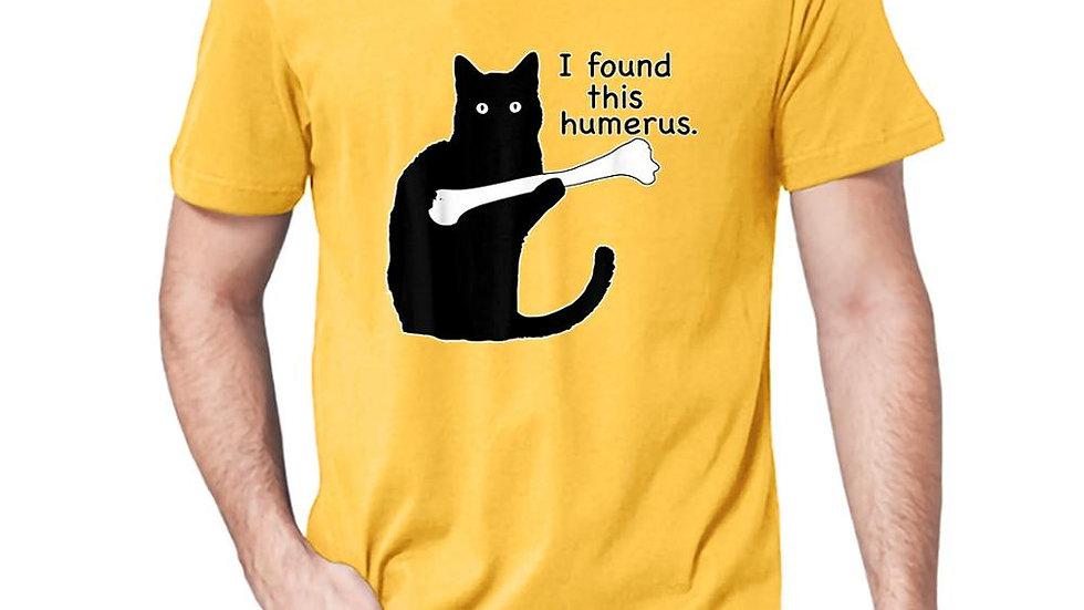 Comedic Cat Print Top