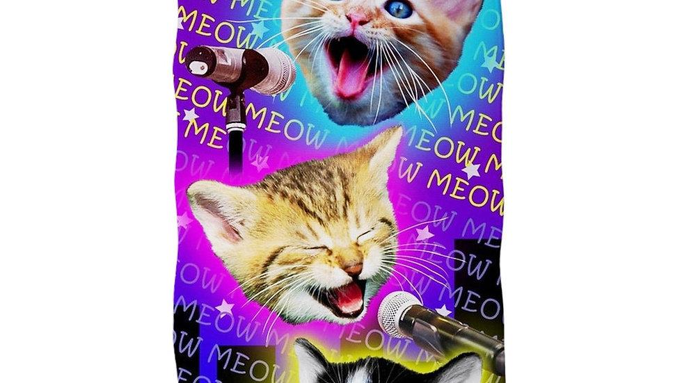 Funny Cat Bath Towel