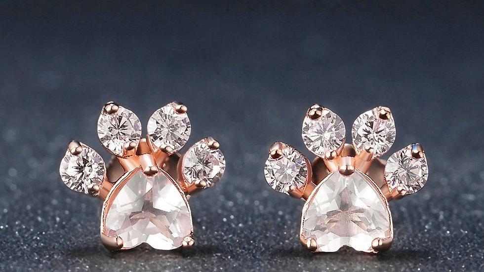 Cat Paw Earrings