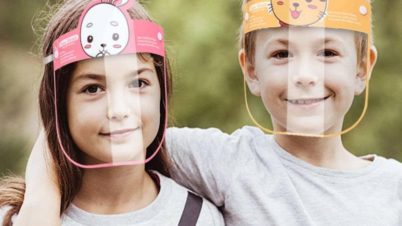 Cartoon Face Shield for Children