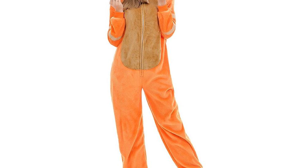 Orange Cat Onesie
