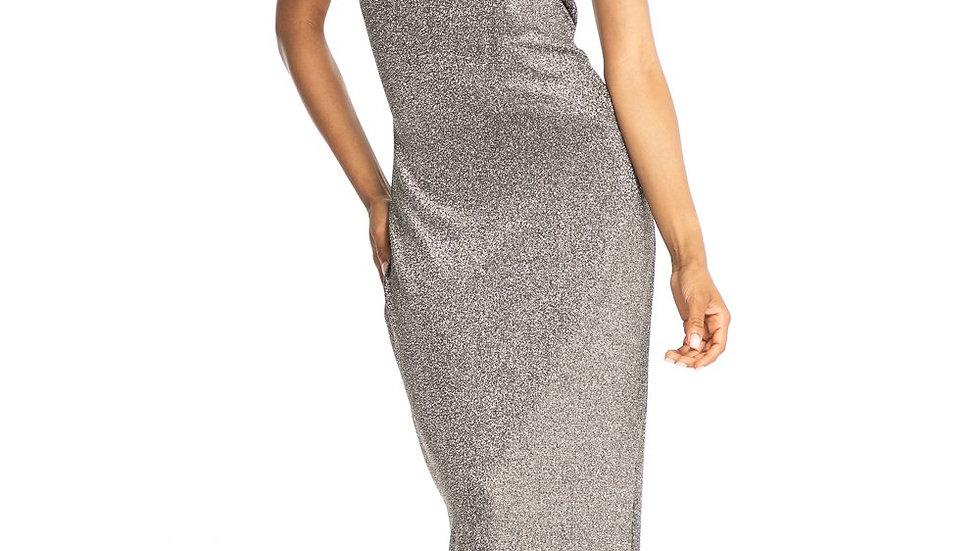 Shimmering evening dress